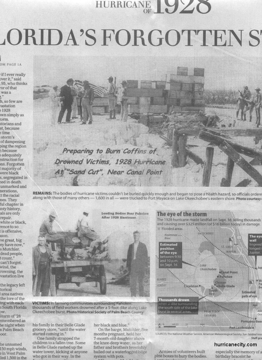 Fort Pierce Florida Hurricanes