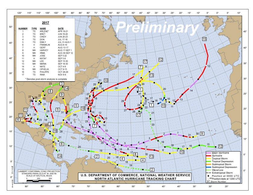 HurricaneCity Database for Hurricane & Tropical Storm Landfalls on