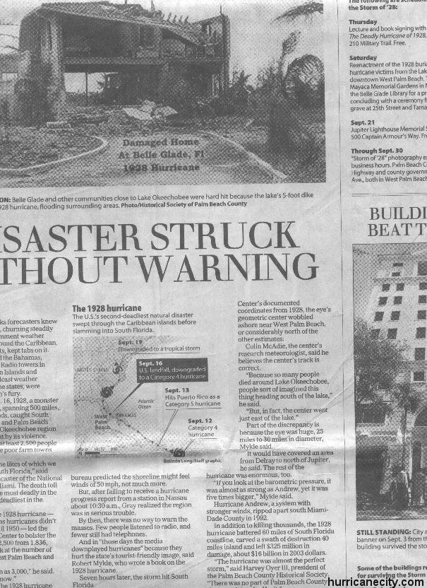 article normal catastrophe florida