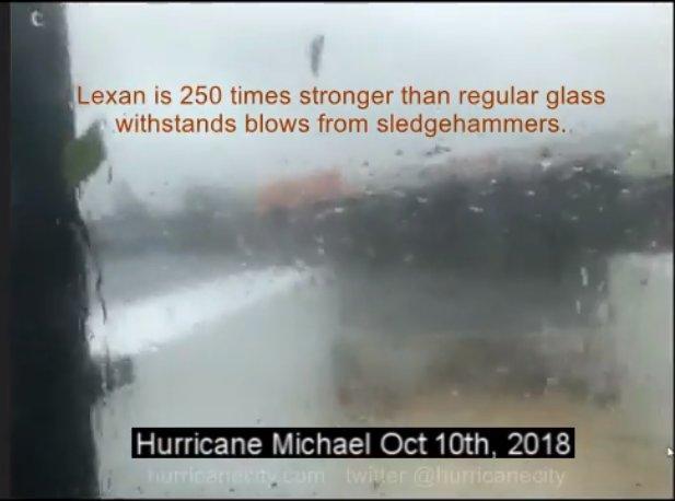 Lexan glass shield